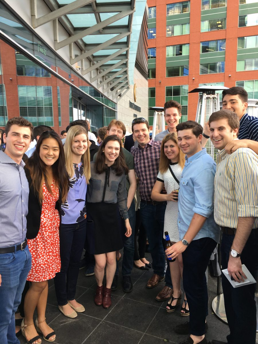 Summer happy hour draws a big crowd in Boston