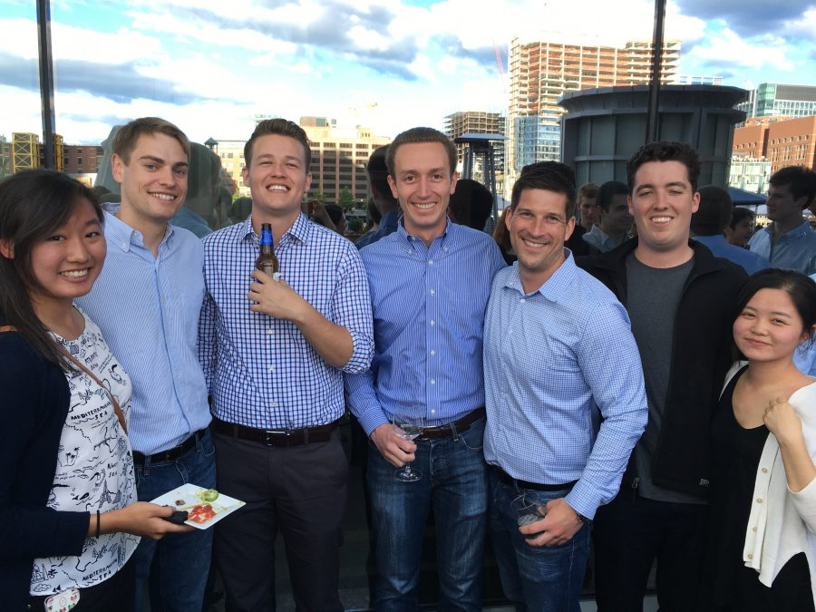 Boston office welcomes new interns with, no surprise, an epic happy hour